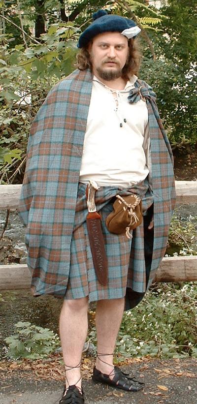 great kilt how to wear